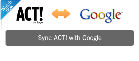 Sync ACT with google